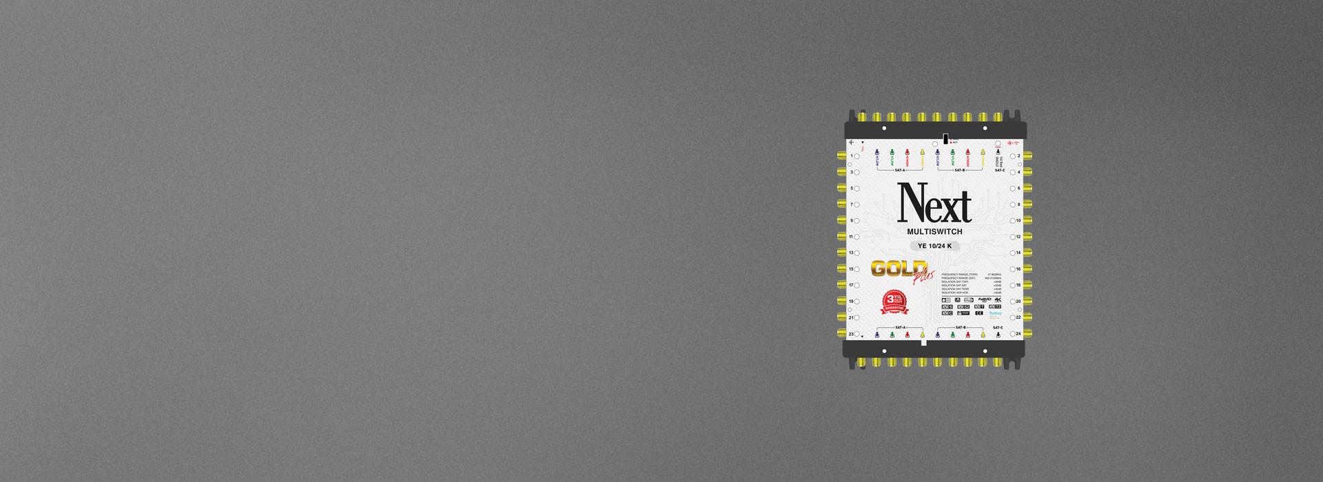 Next Multiswitch YE-10/24-K GOLD PLUS